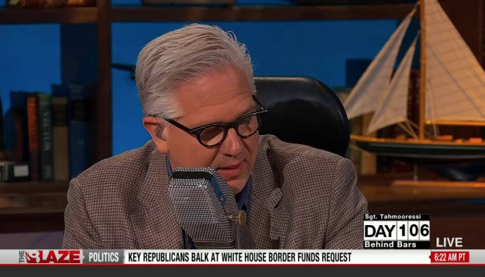 Glenn Beck at Microphone